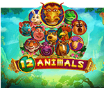 12 Animals Mobile